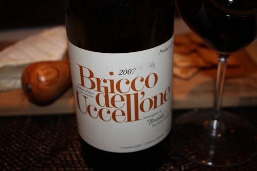 O potente e delicioso Bricco dell'Uccellone da Cantina Braida