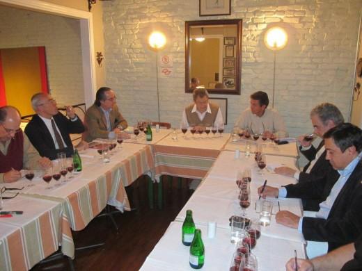 Muita concentração com os Pinot Noir à mesa