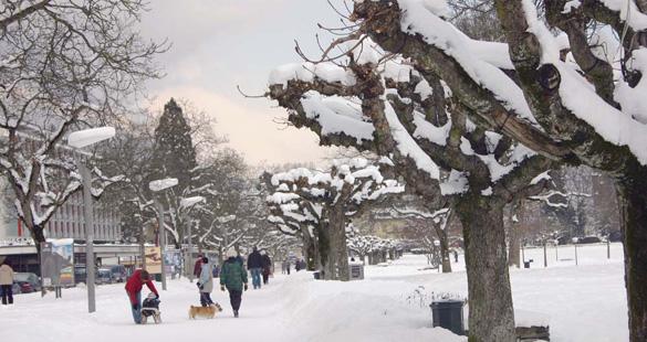 Chega temporada de neve na região de Interlaken