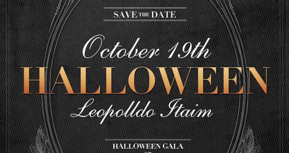 We Clap promove festa de Halloween Chic