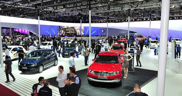 Atrações do Estande da Volkswagen no Salão do Automóvel