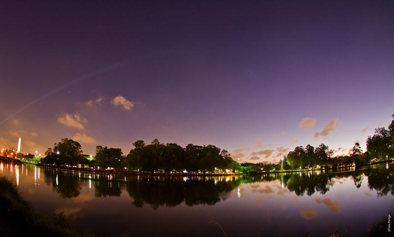 Show de Natal no Parque Ibirapuera