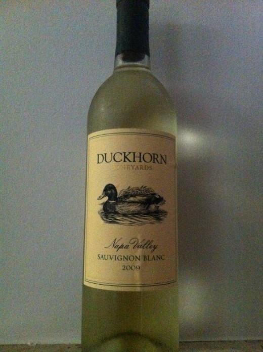 O especial Duckhorn Sauvignon Blanc 2009