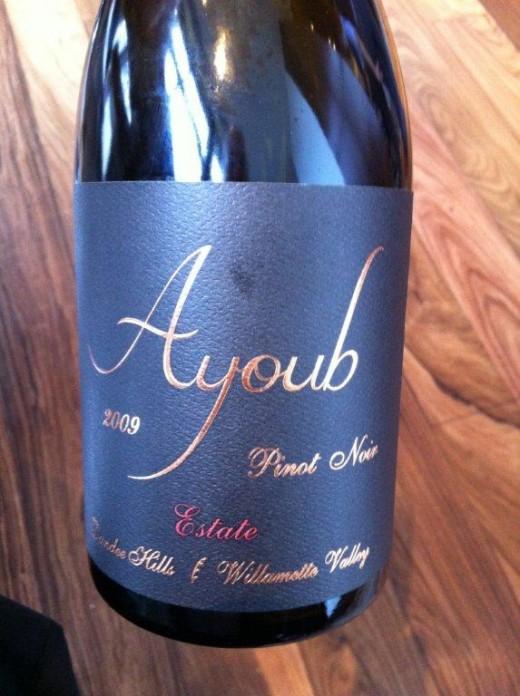 O exuberante Ayoub Pinot Noir 2009