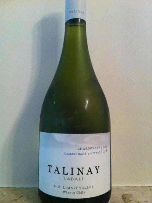 O grande Chardonnay da América do Sul, o Talinay 2010