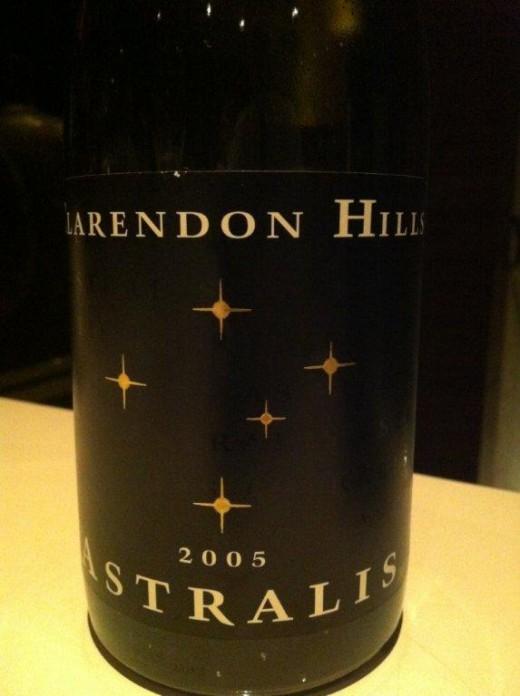 O poderosísssimo Clarendon Hills Astralis 2005