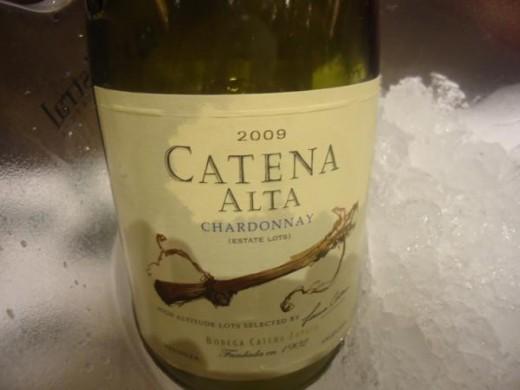 O sempre delicioso Catena Alta Chardonnay 2009
