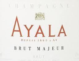 Rótulo do excelente Ayala Brut Majeur