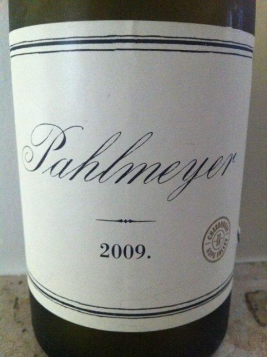 Um dos mais extraordinários brancos degustados do ano, o Pahlmeyer Chardonnay 2009