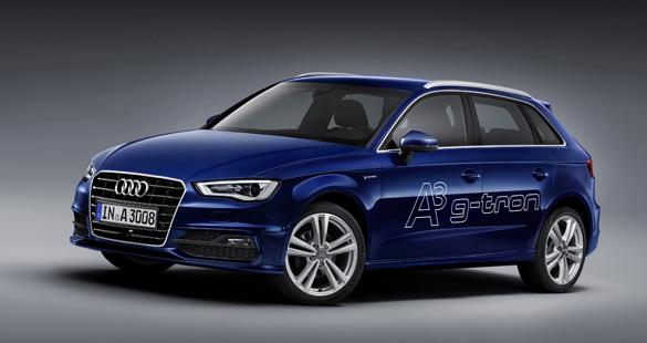 Audi movido a gás natural em Genebra