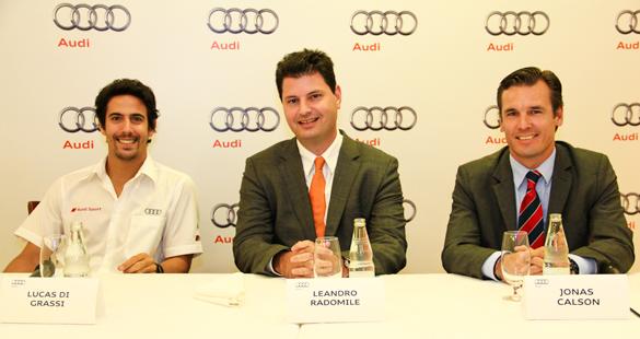 Audi e Lucas Di Grassi