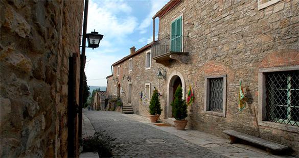 Degustações na Toscana
