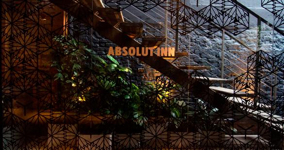 ABSOLUT INN, primeiro bar da marca de vodka