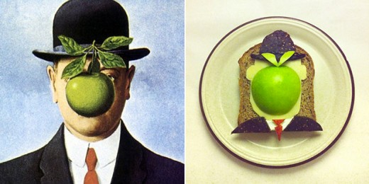 The Son of Man - René Magritte
