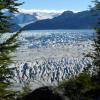 Torres del Paine - Vista dos glaciares Patagonia