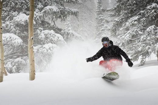 Aspen-Moutain-snowboard