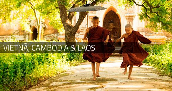 Roteiro para Tailândia, Vietnã, Cambodia & Laos