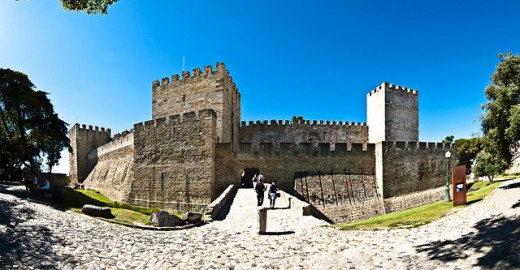 Castelo de São Jorge - entrada