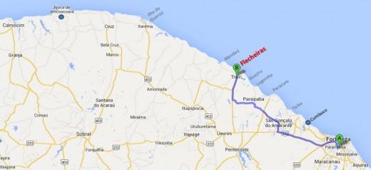 Mapa-Flecheiras