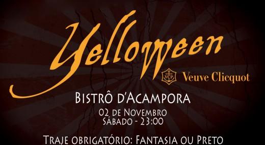 yelloween Veuve Cliquot