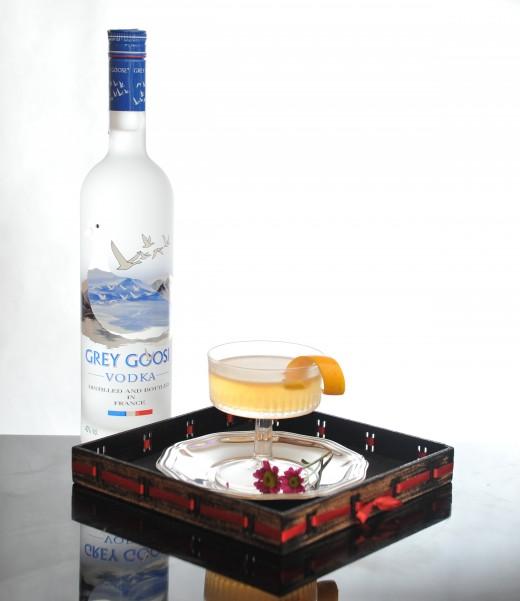 Grey Goose drink segundo colocado