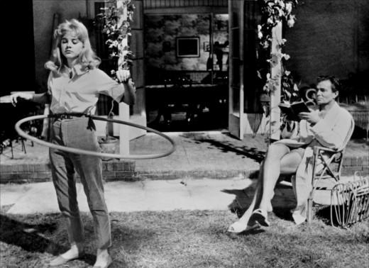 Cena do filme Lolita de Stanley Kubrick