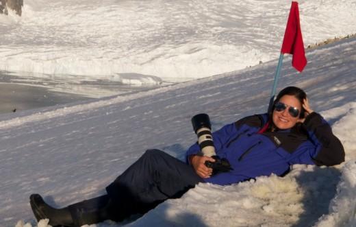 Marina Klink - Antártica