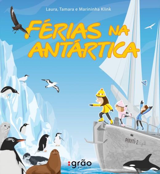 Capa do livro Férias na Antártica