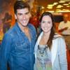Caio Soeiro e Bia Monteiro