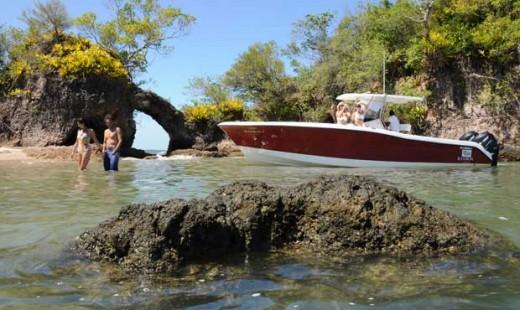 Passeio de barco em Maraú