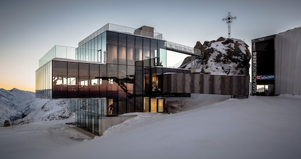 ice Q :: Um restaurante nas alturas de Sölden