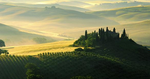 Uma experiência luxuosa na Toscana