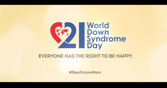 Campanha mostra como é a vida de crianças com a síndrome de Down