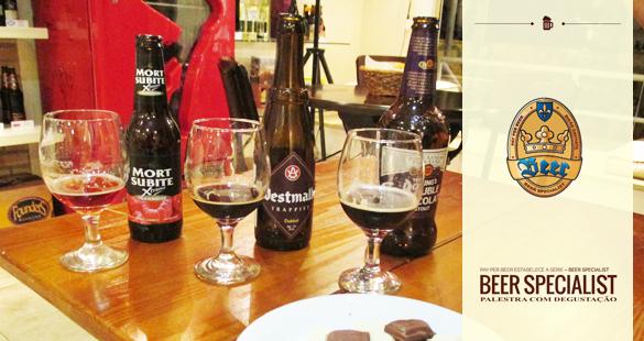 Beer Specialist – Harmonização Cerveja e Chocolate