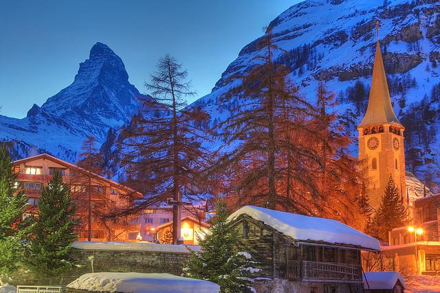 SnowTrip :: Zermatt nos Alpes Suíços