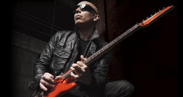 Joe Satriani faz shows no Brasil