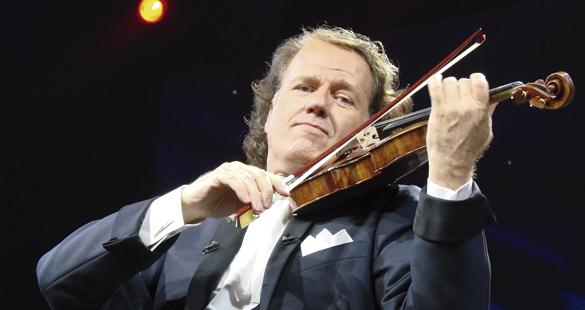 Show do violinista André Rieu