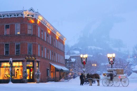 Férias na neve em Aspen