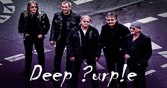 Deep Purple chega em novembro para shows no Brasil