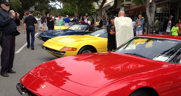 Concours on the Avenue  @  Carmel by the sea