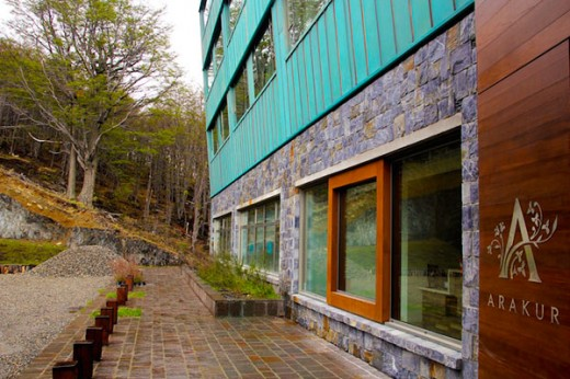Hotel Arakur - entrada