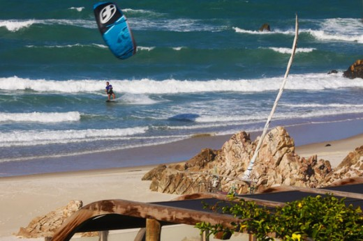 Kitesurf vista Carmel
