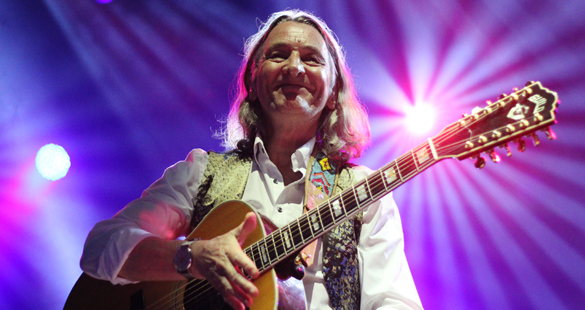 Fotos e playlist do show de Roger Hodgson