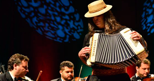 Renato Borghetti & Orquestra de Câmara de Blumenau