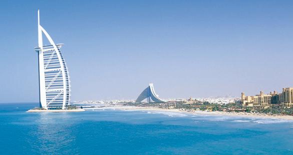 Virada do ano luxuosa em Dubai