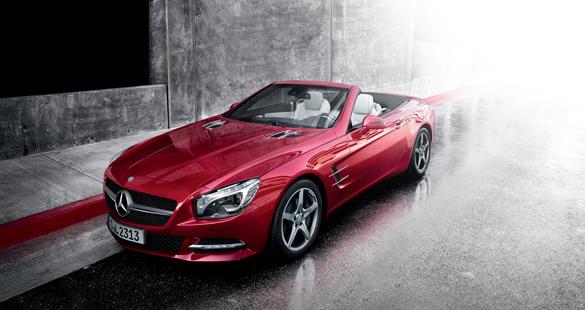 Mercedes-Benz SL 400 chega ao Brasil