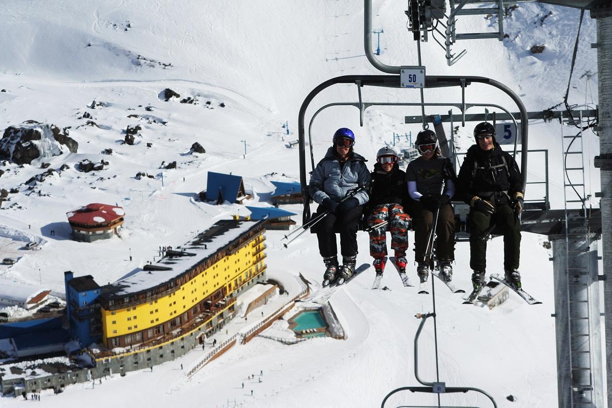 Estação de esqui Portillo anuncia programação especial