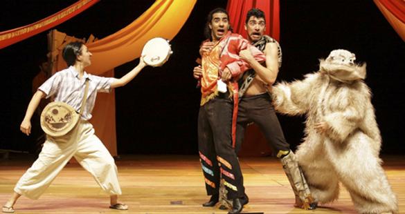 Teatro: peça homenageia Jorge Amado