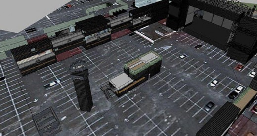 Projeção do Urban Stage (Imagem: Divulgação)