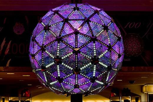 Bola de cristal na Times Square, em Nova York  (Divulgação)